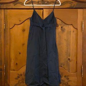 JCREW Navy dress (2)